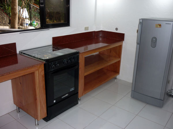 kitchen area stove