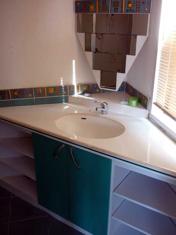 sink at third bedroom